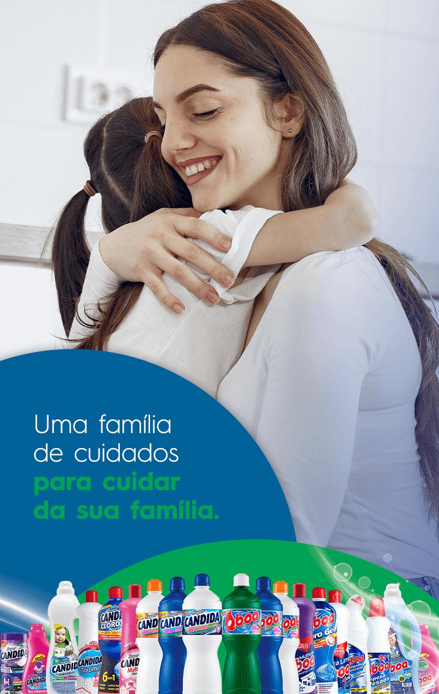 Uma família de cuidados para cuidar da sua família